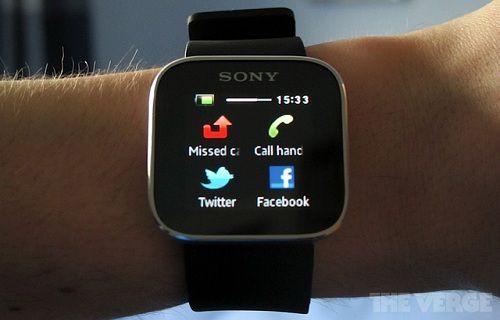Sony yeni nesil akıllı saatini tanıtıyor