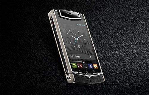 Lüks telefon Vertu Ti'ye yeni renk seçenekleri