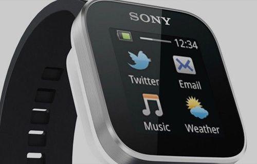 Sony'nin akıllı saati su geçirmeyecek!
