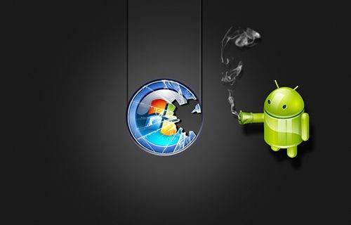 Android Windows'a dönüşecek!