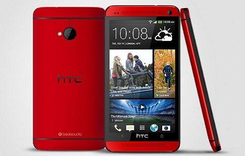 Kırmızı HTC One Avrupa pazarında!