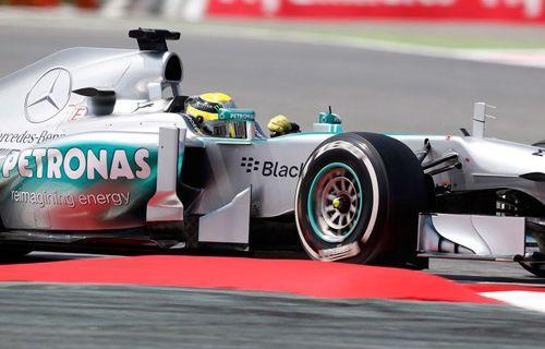 Formula 1'de zafer Rosberg'in