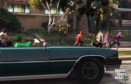 GTA 5'ten yeni görüntüler