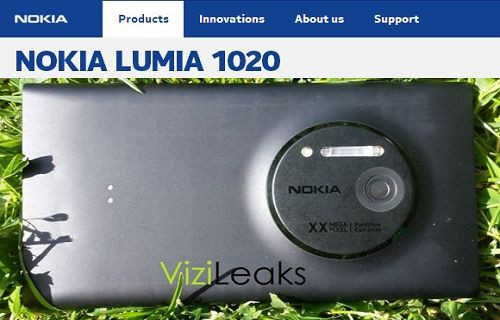 Lumia 1020'nin basın görseli ortaya çıktı