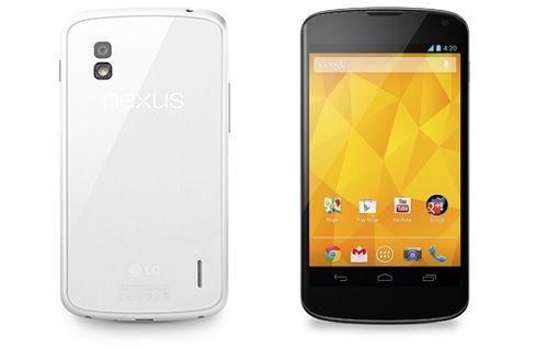 Yoğun ilgi gören beyaz Nexus 4 yine Play Store'da