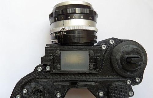 Bu kamera 3D yazıcıdan çıktı!
