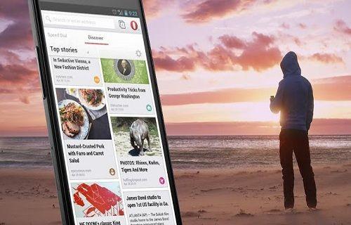 Android için Opera tarayıcısı güncellendi