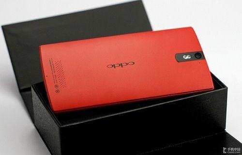 Kırmızı renkli Oppo Find 5 satışa sunuldu