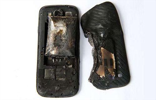 Samsung Galaxy S3 patladı!