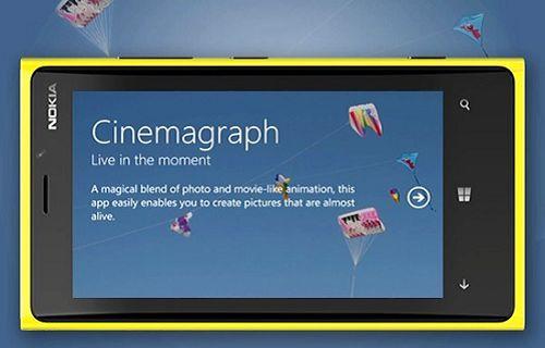 Nokia'nın kamera uygulaması Cinemagraph güncellendi