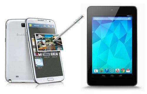 Galaxy Note 3 ve Yeni Nexus 7 onaylandı