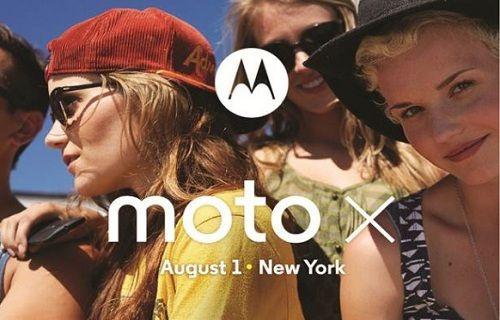 Ve Moto X'in tanıtım tarihi netleşti!