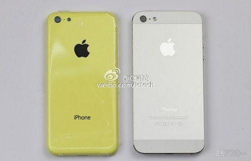 iPhone 5 ve iPhone Lite yan yana görüntülendi