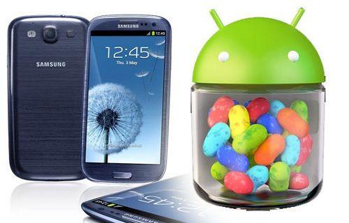 Android 4.3, Galaxy S3'te ortaya çıktı