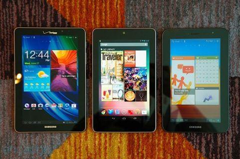 Yeni Nexus 7'nin tüm basın görselleri - Galeri
