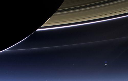 Dünya güneş sistemi dışından görüntülendi