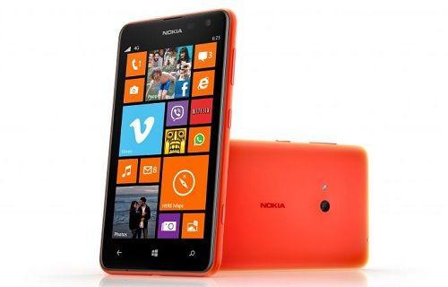 Nokia'nın en yeni telefonu Lumia 625 resmiyet kazandı