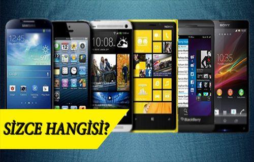 En akıllı 10 cep telefonu! Sizin tercihiniz hangisi?