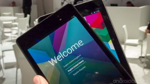 Yeni Nexus 7 paramparça!