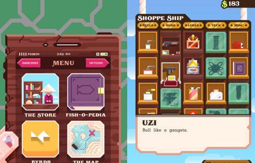 Haftanın mobil oyunu: Ridiculous Fishing