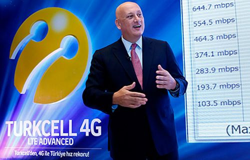 Turkcell mobil dünyanın kapılarını 4G 'LTE Advance' ile aralıyor!