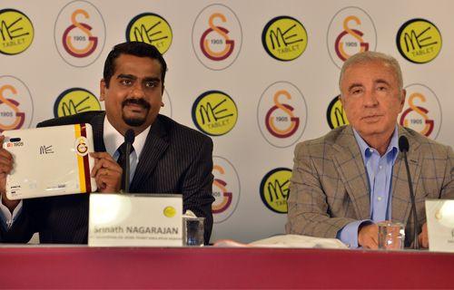 Galatasaray'lı HCL ME Tablet'ler bugün tanıtıldı!