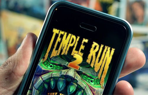 Usain Bolt Temple Run 2'de koşacak!