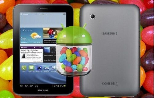Galaxy Tab 2 7.0 için Android 4.2.2 güncellemesi resmen başladı