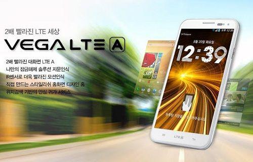 Pantech, Vega LTE-A modelini resmen duyurdu