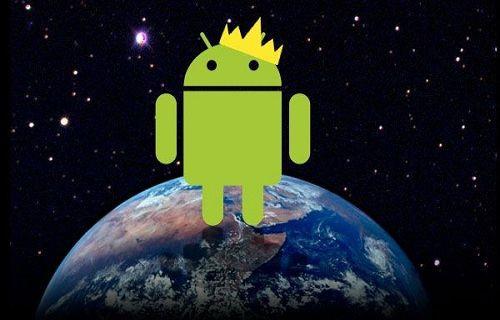 Android ve Samsung yükselişini sürdürüyor