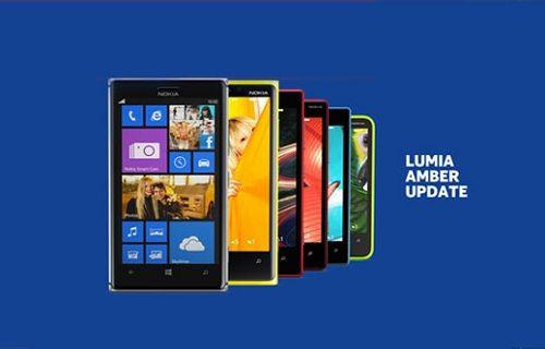 Nokia, Lumia modelleri için Amber güncellemesini başlattı