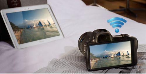 Muhteşem kamera Galaxy NX böyle video çekiyor!