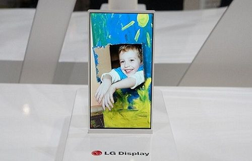 LG, ultra ince Quad HD ekranı resmen duyurdu