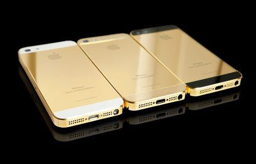 Altın renkli iPhone 5S sızdırıldı