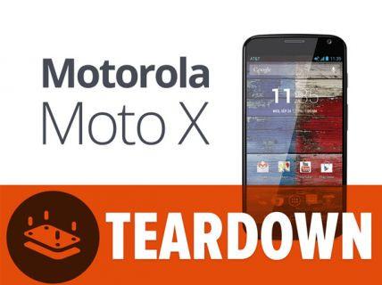Moto X paramparça edildi