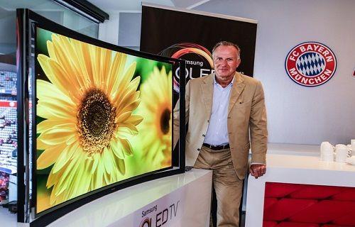 Kavisli OLED TV Avrupa pazarında satışa sunuldu