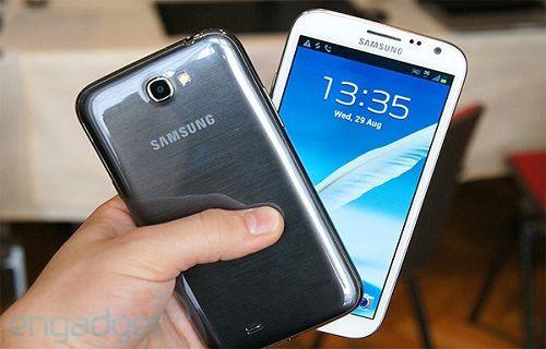 Galaxy Note III ortaya çıktı