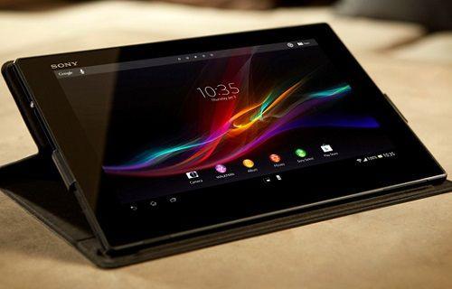 Xperia Tablet Z (Wi-Fi) için güncelleme başladı