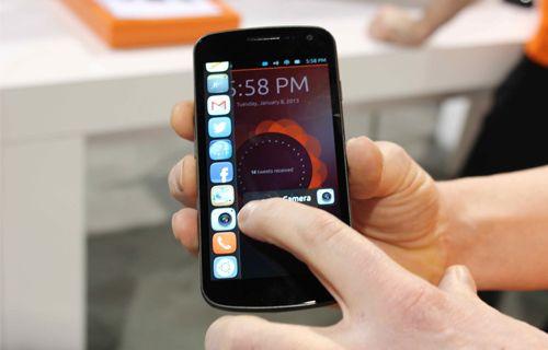 Ubuntu'lu akıllı telefon nasıl çalışır? Video