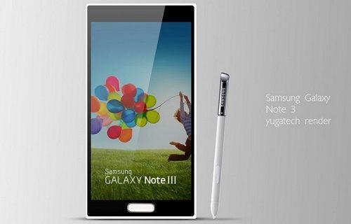 Galaxy Note III'ün yeni görüntüleri sızdırıldı!