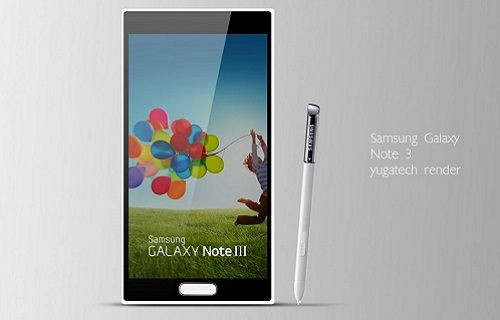 Galaxy Note III cephesinden önemli bilgiler geldi