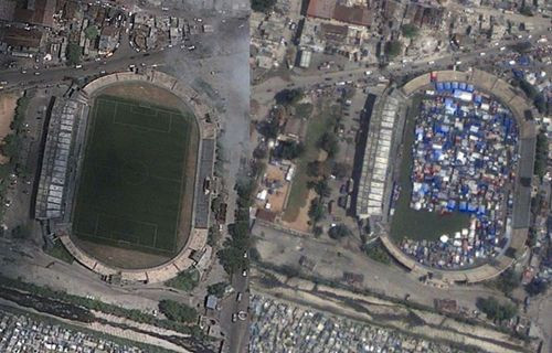 Şok eden Google Earth resimleri