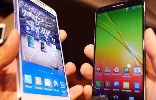 Samsung Galaxy Note 3 ve LG G2 karşılaştırma! Video