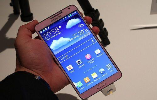 Samsung Galaxy Note 3'ün ilk hayal kırıklığı!