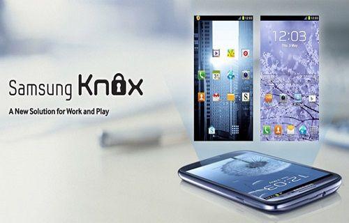 Güvenlik servisi Knox, Galaxy cihazlarda kullanıma hazır!