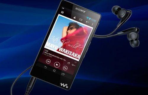 Sony'den Android ile çalışan müzik çalar: Walkman F886