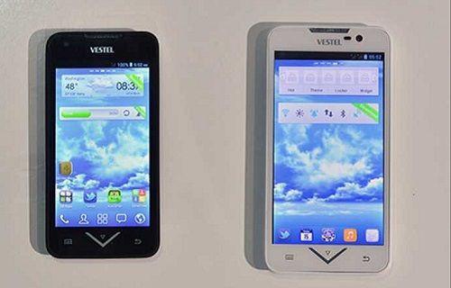 Vestel'in yerli üretim ilk telefonları IFA 2013'te sergilendi