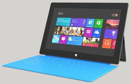 Microsoft yeni tablet için tarih verdi
