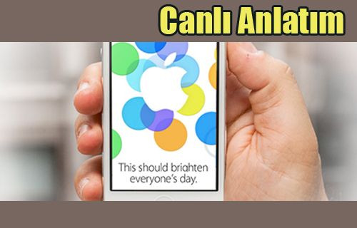 iPhone 5S, 5C ve iOS 7 Canlı Anlatım