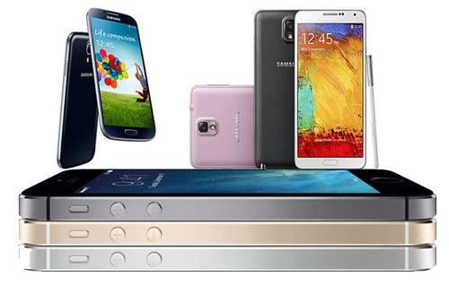 iPhone 5S, Galaxy Note 3 ve Galaxy S4'e karşı!